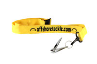 Lanyard With Line Clippers